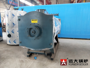 Coil Pipe Compact Structure Thermal Oil Boiler Automatic Running Forced Circulating