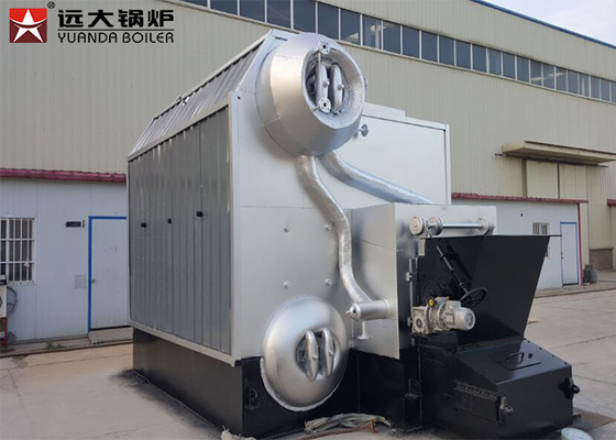 Horizontal Style Coal Biomass Steam Boiler For Garment Textile Factories